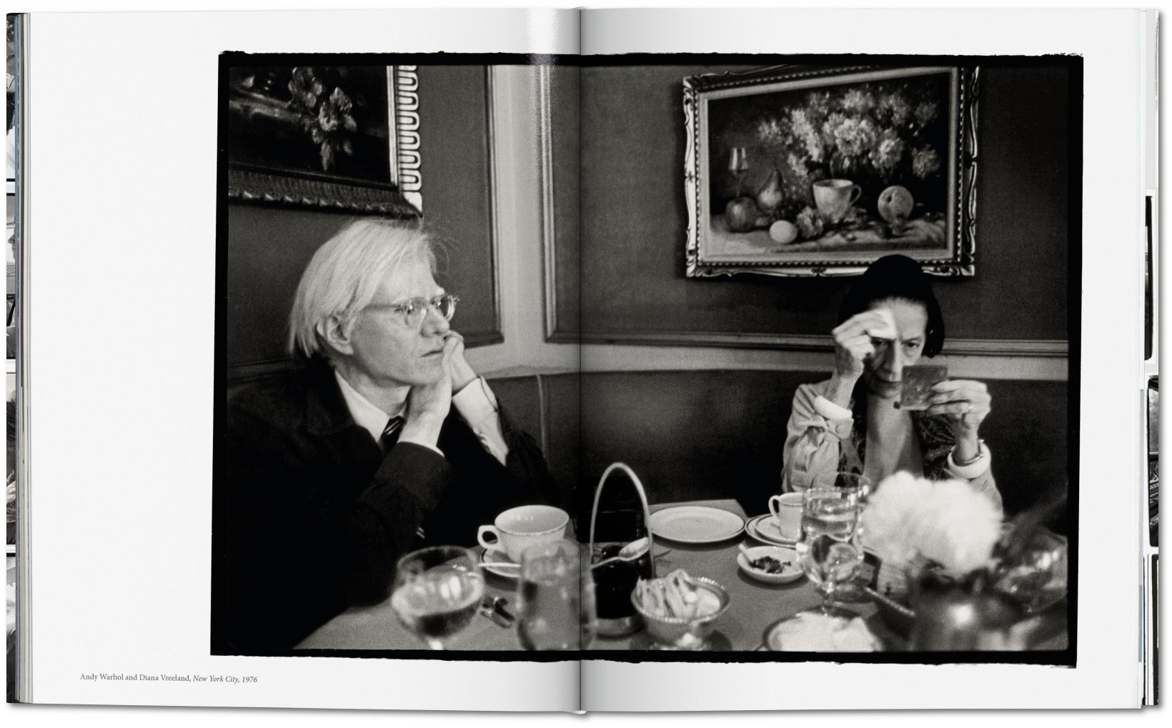 Andy Warhol and Diana Vreeland, New York City, 1976 | aus: Annie Leibovitz: The Early Years, 1970–1983