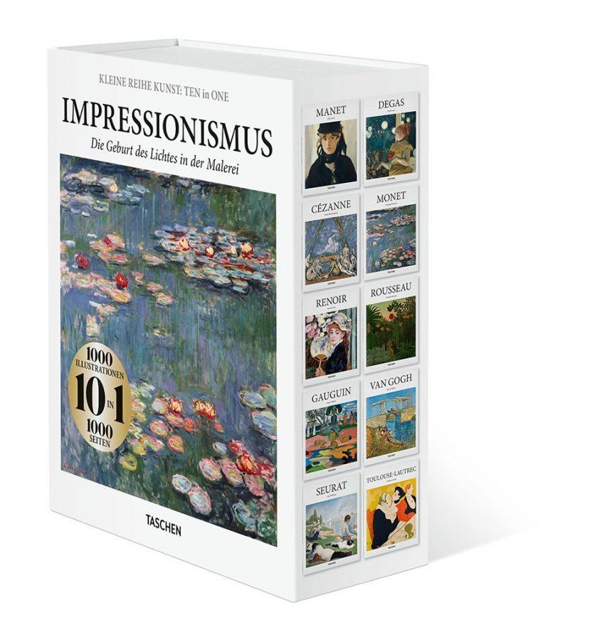 Kleine Reihe Kunst: TEN in ONE. Impressionismus