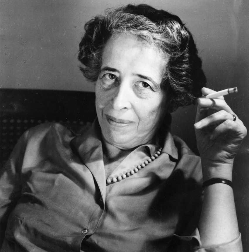 Hannah Arendt (1906-1975), German-American political scientist, characterised 'totalitarianism'. Photo: Ricarda Schwerin