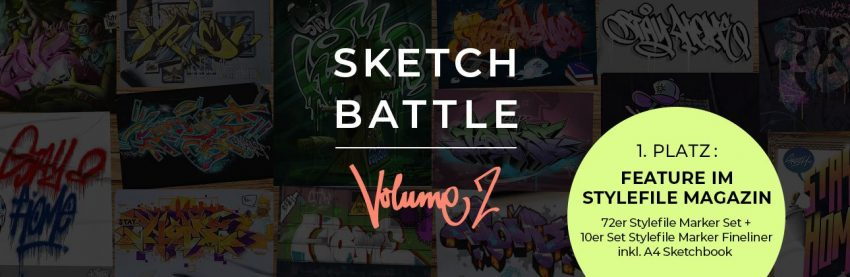 Stylefile SKETCH BATTLE – MASQUERADE